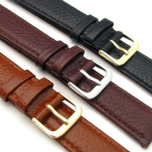CONDOR Buffalo Grain Padded Leather Watch Strap  16mm 18mm 20mm 131R